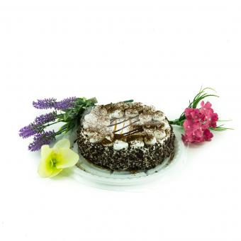 Торт шоколадно - кремовый
