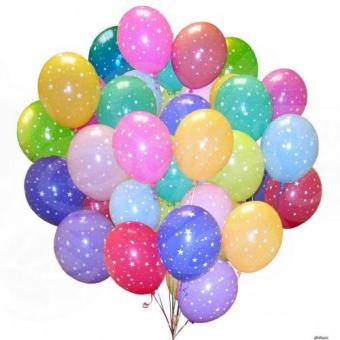 Гелиевые шары 51 шт.